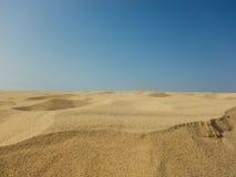 Désert de vue de boa, Cap Vert Photo libre de droits