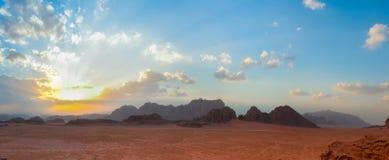 Désert de Wadi Rum, Jordanie Image stock