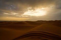 Désert du Sahara Image stock