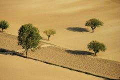 Désert en Italie Photographie stock libre de droits