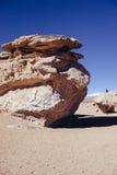 Désert en pierre en Bolivie Photographie stock