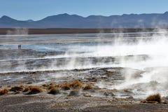 Désert et paysage montagneux dans Altiplano image libre de droits