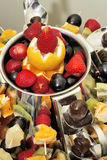 Désert - salade de fruits Photographie stock