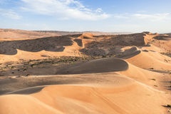 Désert Wahiba Oman Images stock