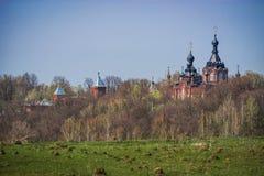 Déserts amvrosiyevsky de Kazan dans la région de Kaluga en Russie photographie stock libre de droits