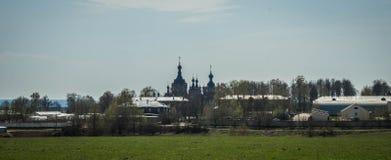 Déserts amvrosiyevsky de Kazan dans la région de Kaluga en Russie image libre de droits
