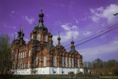 Déserts amvrosiyevsky de Kazan dans la région de Kaluga en Russie photographie stock