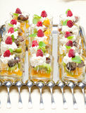 Déserts de fruit image stock