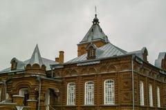 Déserts de Kazan Amvrosievsky (au couvent de shamordino dans la région de Kaluga de la Russie illustration stock