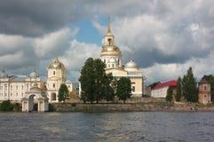 Déserts de Nilov de monastère photo stock
