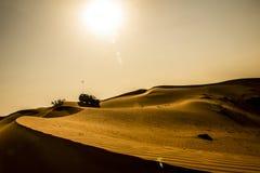 Déserts Dubaï Photos libres de droits