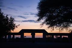Déserts et nature d'Etosha Namibie en parcs nationaux photographie stock libre de droits