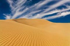 Déserts et paysage de dunes de sable au lever de soleil image stock