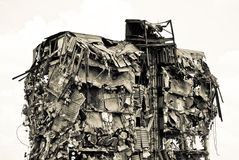désespoir de construction photographie stock