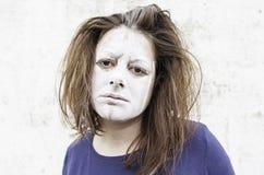 Désespoir et tristesse femelles images libres de droits