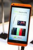DÉSIR 816, LE CONGRÈS MOBILE 2014 DE HTC DU MONDE Photo stock