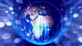 Désir pour le monde bleu banque de vidéos