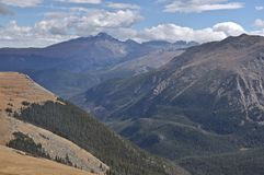 Désire ardemment la crête de la traînée Ridge Road Images stock