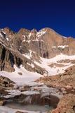 Désire ardemment la crête du lac chasm Images stock