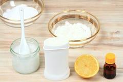 Désodorisant fait maison antibactérien et naturel Photos stock