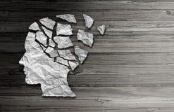 Désordre patient de la maladie de Parkinson illustration libre de droits