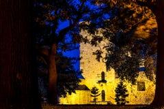 Déspota Stefan Tower no parque de Kalemegdan Belgrado, Serbia Imagem de Stock