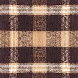 Détail à carreaux de tissu de plaid de Brown pour le fond Photos stock