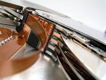 Détail 1 d'unité de disque dur Photo libre de droits