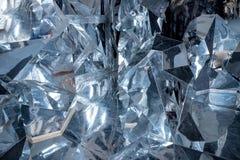 Détail abstrait de peu de grands morceaux de glace cassée glace, blocs écrasés de glace Surface cassée de glace Texture épaisse d photographie stock