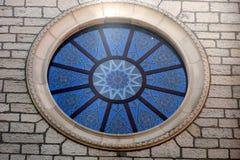 Détail antique d'église Images libres de droits