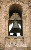 Détail antique de tour de cloche   Photos libres de droits