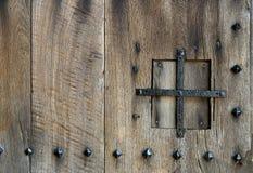 Détail antique de trappe Image libre de droits