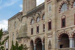 Détail architectural Built par l'architecte Mimar Sinan entre la mosquée 1569 et 1575 de Selimiye dans la ville d'Edirne, Turquie photo stock
