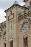 Détail architectural Built par l'architecte Mimar Sinan entre la mosquée 1569 et 1575 de Selimiye dans la ville d'Edirne, Turquie photographie stock libre de droits