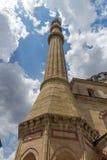Détail architectural Built par l'architecte Mimar Sinan entre la mosquée 1569 et 1575 de Selimiye dans la ville d'Edirne, Turquie image stock