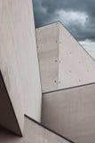 Détail architectural d'un bâtiment moderne photos libres de droits