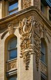 Détail architectural d'une façade de bâtiment de Soho, New York City images libres de droits