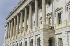 Détail architectural de capitol des USA Photos libres de droits