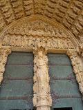 Détail architectural de cathédrale image stock