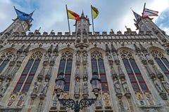 Détail architectural de façade à un vieux bâtiment placé dans le Burg s image libre de droits