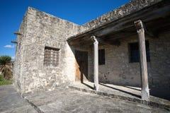 Détail architectural de fort du sud du Texas photo libre de droits