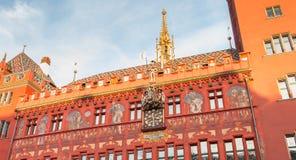 Détail architectural de l'hôtel de ville de la balle Image libre de droits