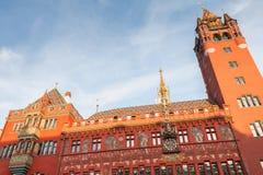 Détail architectural de l'hôtel de ville de la balle Photographie stock libre de droits