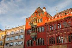 Détail architectural de l'hôtel de ville de la balle Image stock