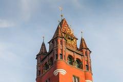 Détail architectural de l'hôtel de ville de la balle Photos libres de droits