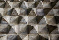 Détail architectural de modèle de pyramide images libres de droits