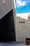 Détail architectural du Landesmuseum à Zurich Images libres de droits