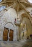 Détail architectural intérieur de Notre Dame photographie stock