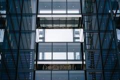 Détail architectural moderne, à Washington, C.C photo libre de droits