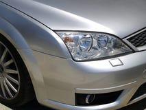 Détail argenté de véhicule Images stock
